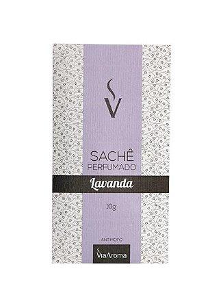 Sachê Perfumado Via Aroma 10 gr / Lavanda