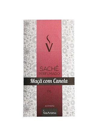 Sachê Perfumado Via Aroma 10 gr / Maça com Canela