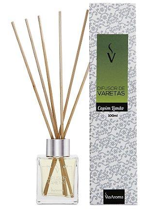 Difusor Varetas 100 ml / Capim Limão / Via Aroma