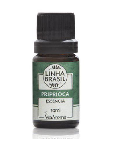 Essência De Priprioca - Linha Brasil - Via Aroma - 10ml