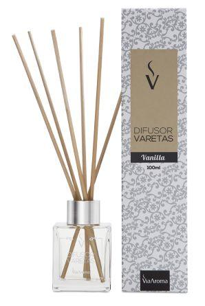Difusor Varetas 100 ml / Vanilla / Via Aroma