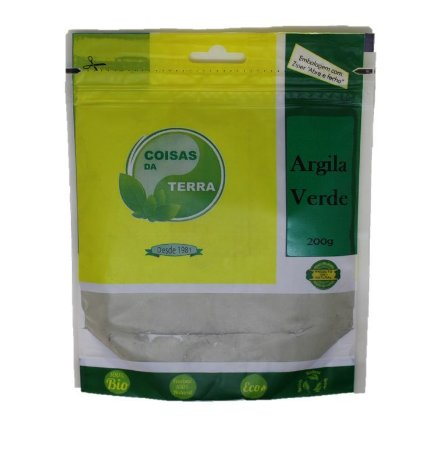 Argila Verde - Coisas da Terra - 200 g