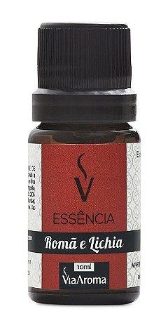 Essência De Romã E Lichia / Via Aroma 10 ml