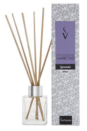 Difusor Varetas 100 ml / Lavanda / Via Aroma