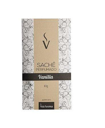 Sachê Perfumado Via Aroma 10g / Vanilla/Baunilha