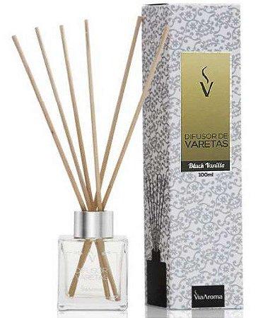 Difusor Varetas 100 ml / Black Vanilla / Via Aroma
