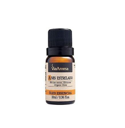 Óleo Essencial De Anis Estrelado /  Illicium verum  10 ml