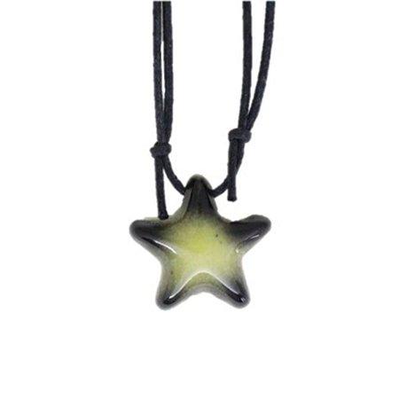 Colar Aromatizador de Cerâmica - Estrela