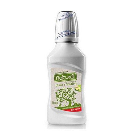 *Enxaguante Bucal Natural com ingredientes orgânicos e naturais 250ml