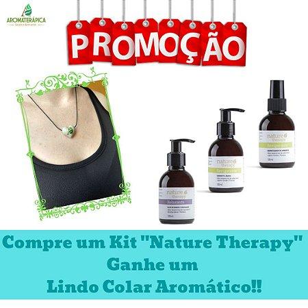 """Kit de Produtos Naturais """"Nature Therapy - Tensão e Cansaço"""""""