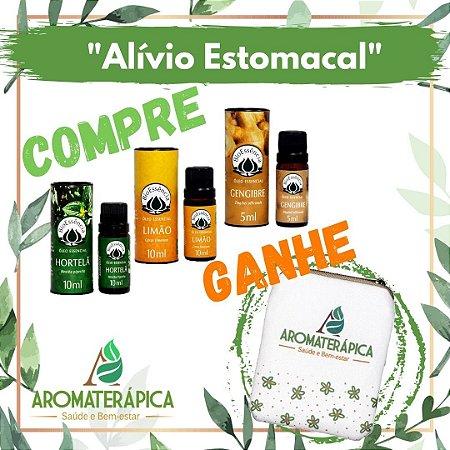 """Kit de Óleos Essenciais """"Alívio Estomacal"""""""