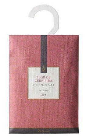 Sachê Perfumado Via Aroma 25g - Flor de Cerejeira