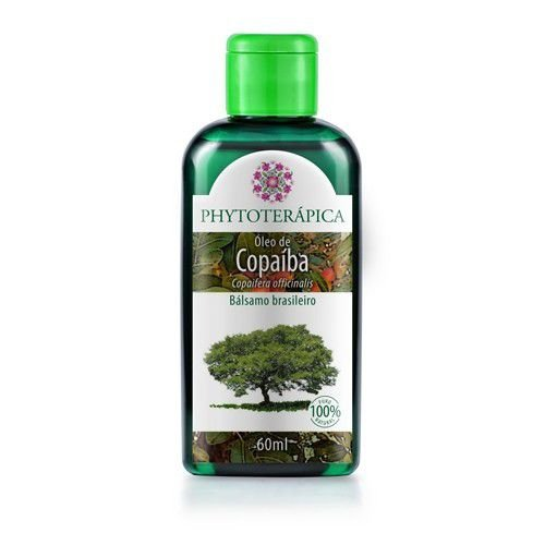 Óleo Vegetal De Copaíba (Copaifera officinalis) 60 ml - Phytoterápica