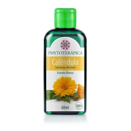 Óleo Vegetal De Calêndula (Calendula officinalis) 60 ml - Phytoterápica