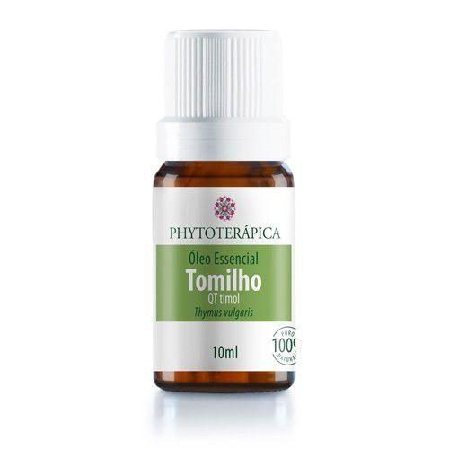 Óleo Essencial De Tomilho - Thymus vulgaris 10 ml - Phytoterápica