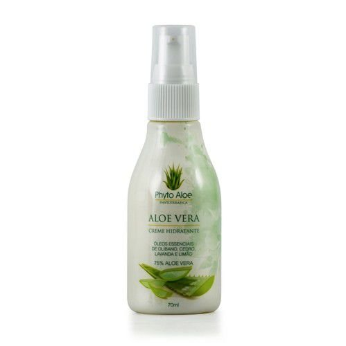 Creme Hidratante de Aloe Vera 75% - 70ML - Phytoterápica