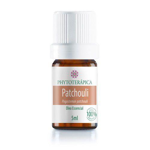 Óleo Essencial De Patchouli  (Pogostemon patchouli) 5 ml - Phytoterápica