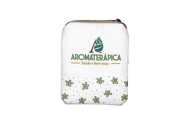 Bolsinha para Óleos Essenciais, Homeopáticos ou Florais - Aromaterápica