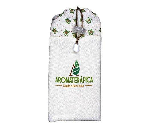 Saquinho para Óleos Essenciais, Homeopáticos ou Florais - Aromaterápica