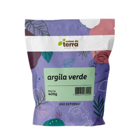 Argila Verde - Coisas da Terra - 400 g