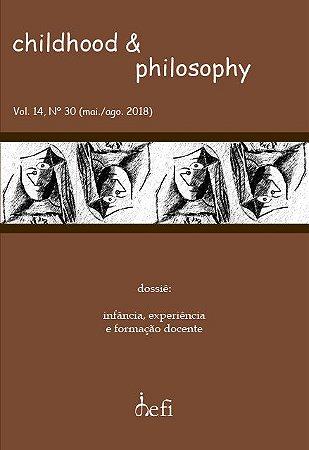 Childhood & Philosophy - Dossiê Infância, Experiência e Formação Docente)