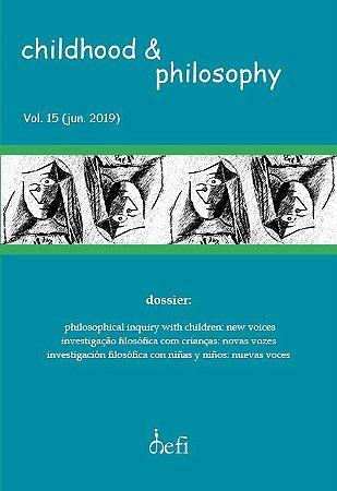 Childhood & Philosophy - Dossiê investigação filosófica com crianças: novas vozes
