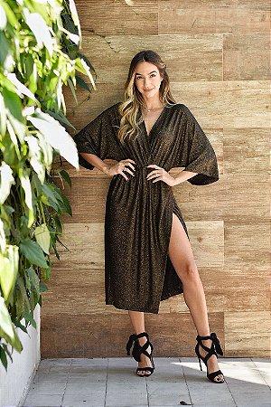 Vestido Eve Lurex