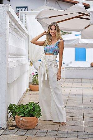 Pantalona Alika off White