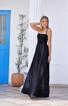 Vestido Rhavena Preto