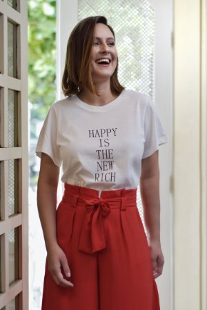 T-shirt Happy Off