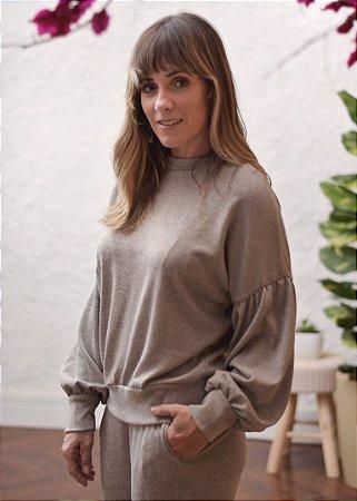 Blusa Maia Cinza