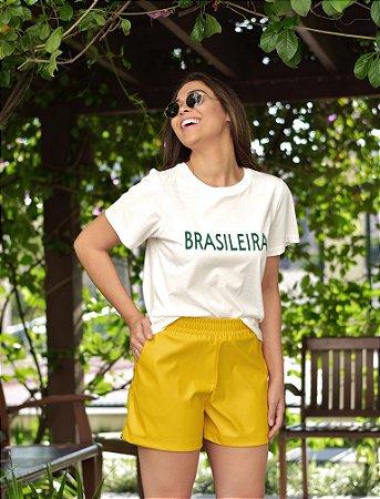 Short Canário Amarelo