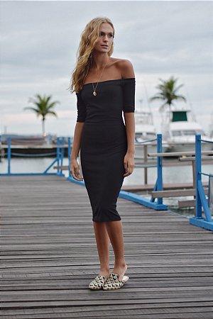 Vestido Cannes Preto