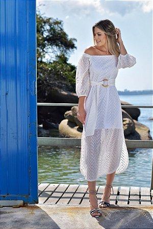 Vestido Florença Off White