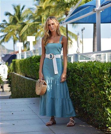 Vestido Fortaleza Azul