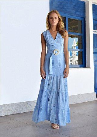 Vestido Saint Barth Azul Claro