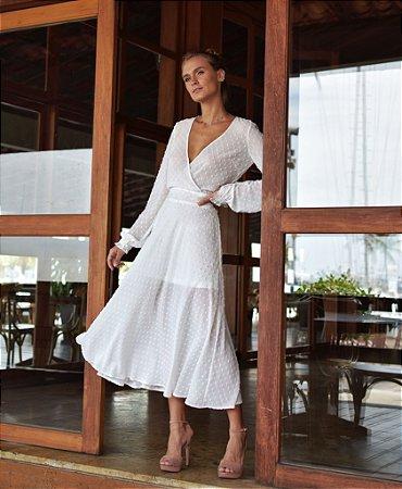 Vestido Capri Off / White