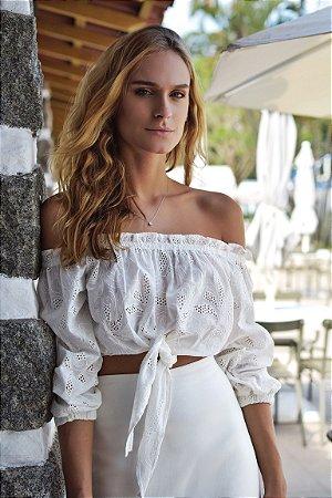 Blusa Mykonos Off / White