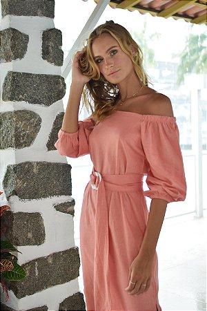 Vestido San Vicente Coral