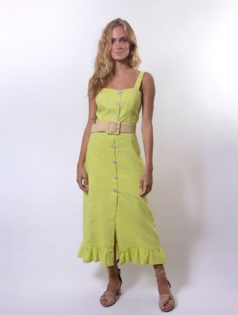 Vestido Cozumel Lima