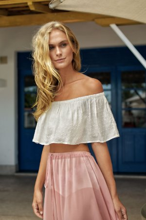 Cropped Parati Off White