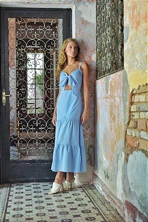 Vestido Astúrias Azul