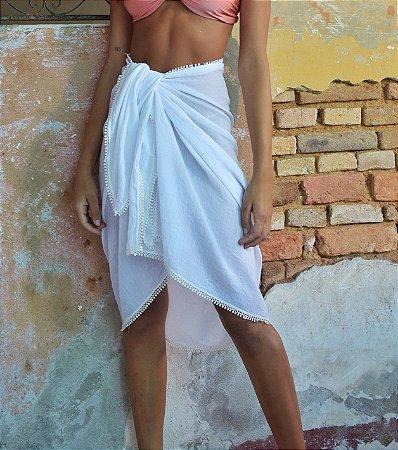 Pareô Marrocos Branca