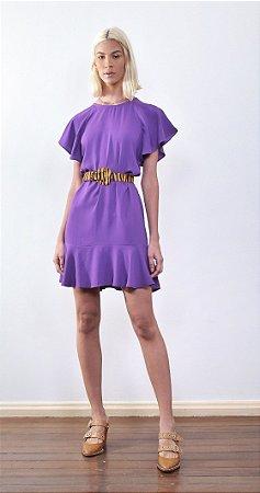 Vestido Gavia Violeta sem Cinto