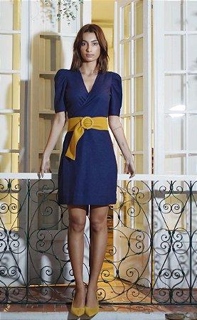 Vestido Louna Azul Marinho