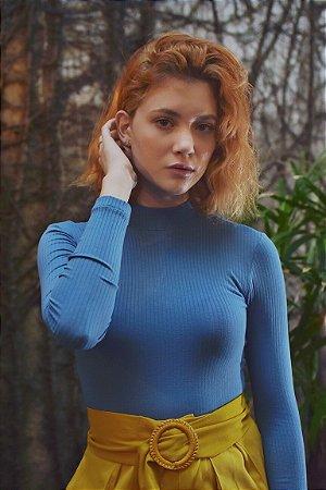 Blusa Roma Azul
