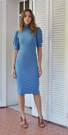 Vestido Roma Azul Claro