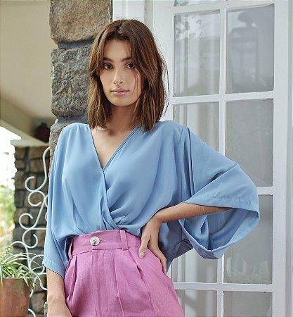 Blusa Sidney Azul