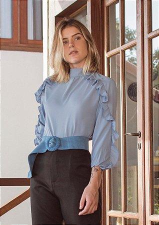 Blusa Holland Azul