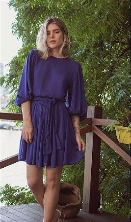 Vestido Gardênia Púrpura